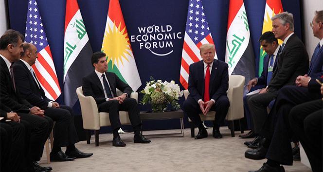 Trump, Irak Cumhurbaşkanı Salih ve IKBY Başkanı Barzani ile görüştü