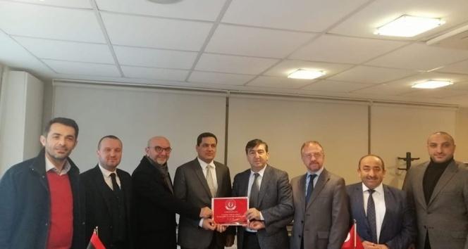 ASİAD, Libya Konsolosluğunu ziyaret etti