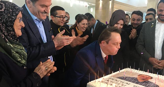 Cumhurbaşkanı Erdoğan'ın manevi oğlu İbo'nun doğum günü kutlandı