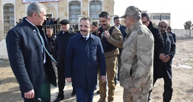 İçişleri Bakan Yardımcısı Çataklı'dan Tel Abyad ve Resulayn'da inceleme