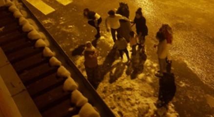 Siirtte deprem paniği: Vatandaşlar sokağa döküldü
