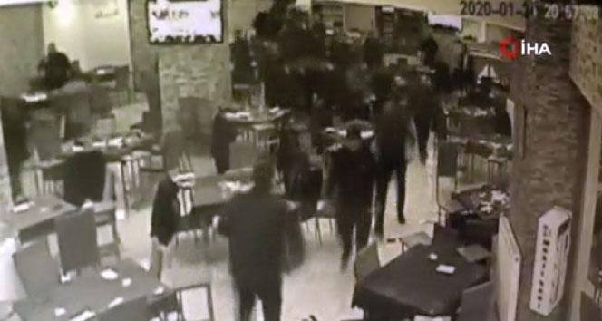 Deprem anı paniği güvenlik kamerasına böyle yansıdı