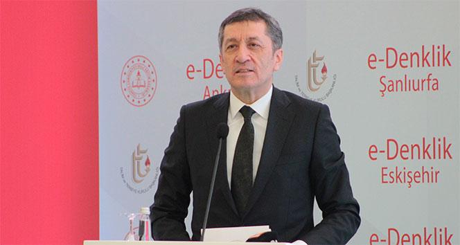 Bakan Selçuk açıkladı: 'Vatandaşlarımız için okullarımızı açtık'