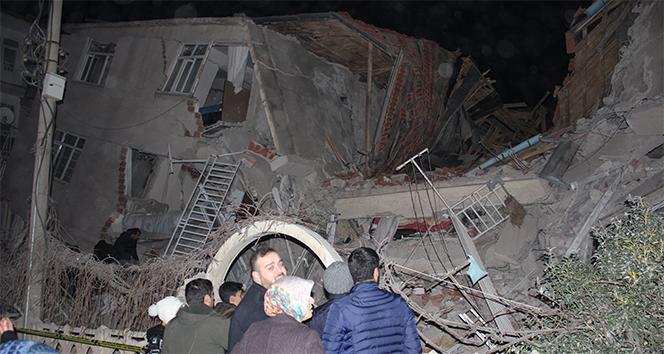 Elazığ'da 6,8 büyüklüğünde deprem! 19 kişi hayatını kaybetti, 782 kişi yaralandı