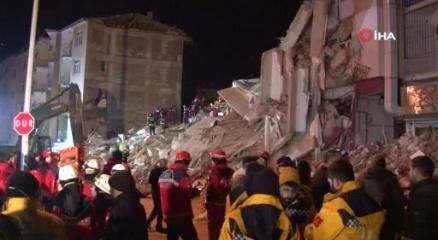 Elazığda 5.1 büyüklüğünde bir artçı deprem daha