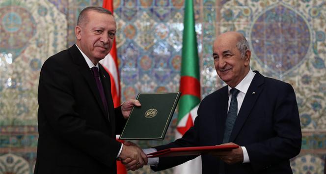 Cumhurbaşkanı Erdoğan ve Tebbun'dan ortak basın toplantısı