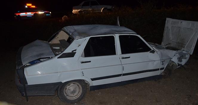 Osmaniye'de trafik kazası, yaralılar var