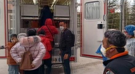 Aksarayda korona virüsü şüphesiyle 9 Çinli turist karantina altına alındı