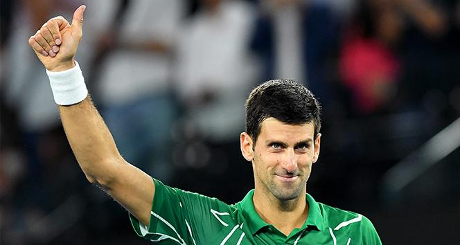 Djokovic, Avustralya Açık'ta yarı finalde