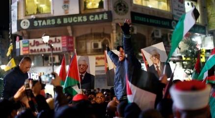 Filistinliler Trumpın sözde Orta Doğu barış planını protesto etti
