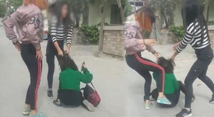 Denizlide kız çocukları çete kurdu, kan donduran görüntüler ortaya çıktı