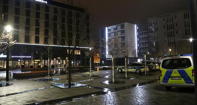 Almanya'da otele bomba ihbarı