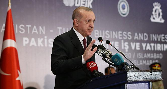 Cumhurbaşkanı Erdoğan: 'Hedef 5 milyar dolar'