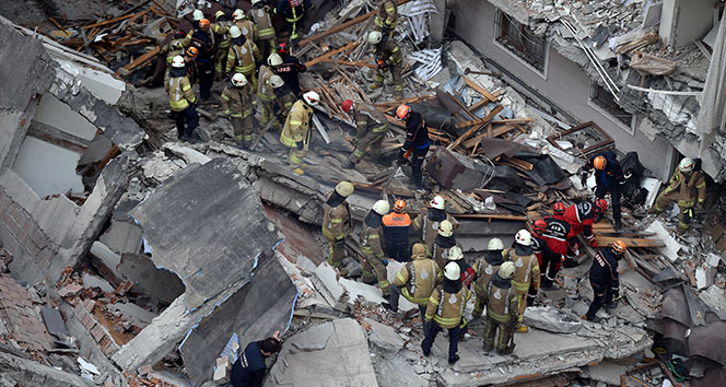 Bahçelievler'de çöken bina ile ilgili soruşturma başlatıldı