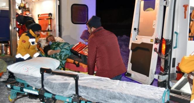 Bitlis'teki hastaların imdadına paletli ambulanslar yetişiyor