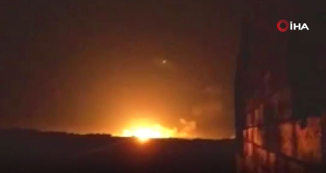 Esad rejiminden Atarib'a saldırı