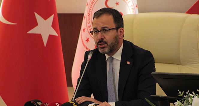 Bakan Kasapoğlu'ndan Hatayspor'a tebrik