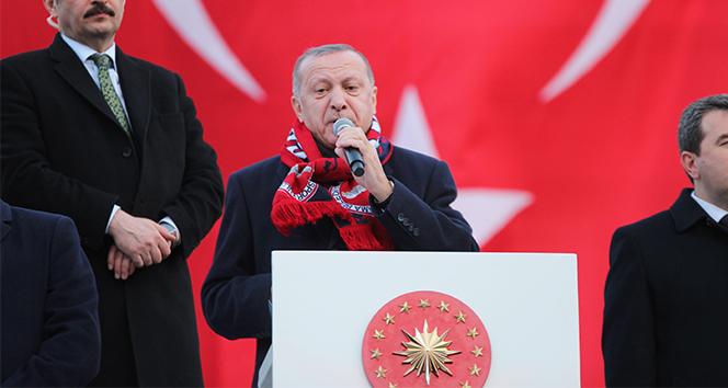 Cumhurbaşkanı Erdoğan: 'Savunma sanayinde yerlilik oranı yüzde 20'ydi, şimdi yüzde 70'in üzerine çıktı'