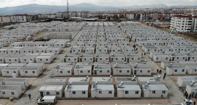 Bakan Soylu, konteyner kentleri inceledi.