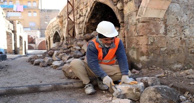Mardin'de 10 çarşının restorasyon çalışması devam ediyor