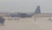 400 komando askeri uçakla Hatay'a geldi