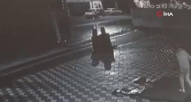 15 yaşındaki gencin feci ölümü kamerada