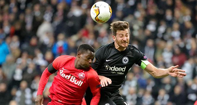 RB Salzburg - Eintracht Frankfurt maçına fırtına engeli