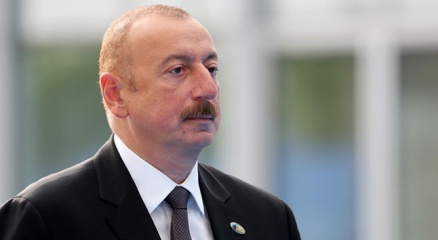 """Azerbaycan Cumhurbaşkanı Aliyev: """"Türkiyenin F-16ları çatışmalarda yer almıyor"""""""