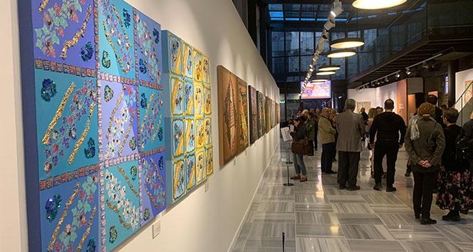 'Sessizliğin ve Sabrın Renkleri' resim sergisi sanatseverlerle buluştu
