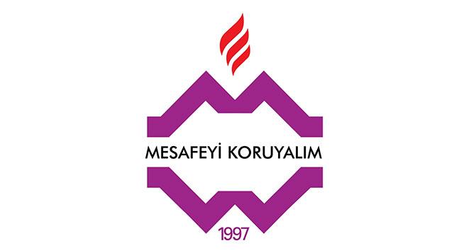 Yeni logo 'Mesafeyi Koruyalım' mesajı veriyor
