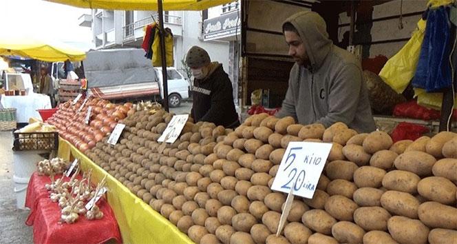 Patatesin fiyatı çıkışa geçti