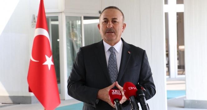 Bakan Çavuşoğlu'ndan önemli görüşmeler