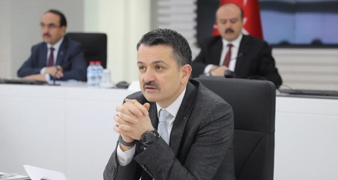 Tarım ve Orman Bakanı Pakdemirli: 'Aldığımız tedbirler sayesinde gıda arz güvenliğimizde sıkıntı yaşamadık'