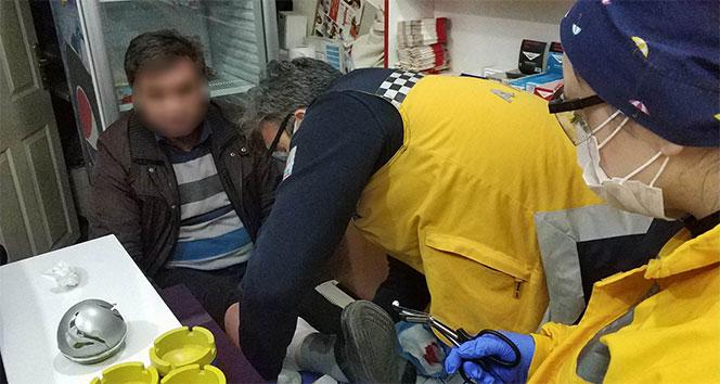 Tütüncü dükkanı sahibi iş yerinde vuruldu
