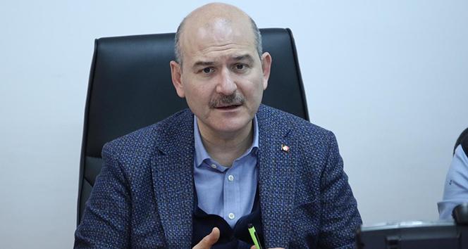 İçişleri Bakanı Soylu'dan emniyet ve kamudaki korona virüs vaka sayıları açıklaması