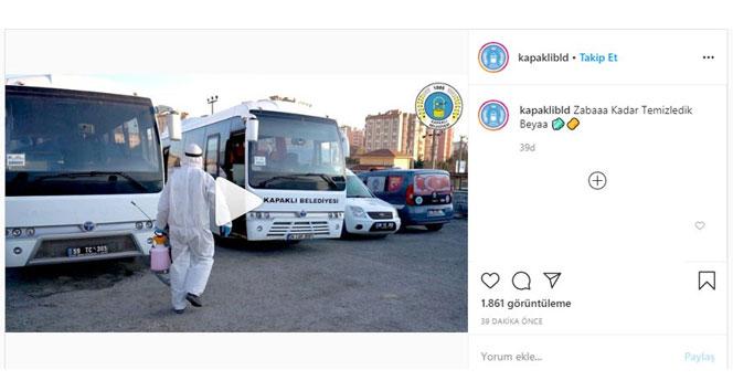 Korona virüse karşı cadde ve sokakları 'Zabaha Kadar' yıkadılar