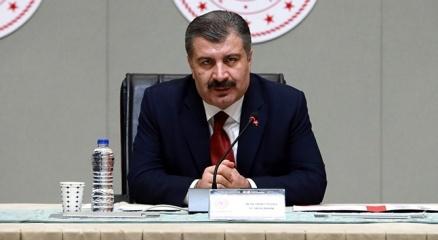 Sağlık Bakanı Koca: Milletçe başımız sağ olsun