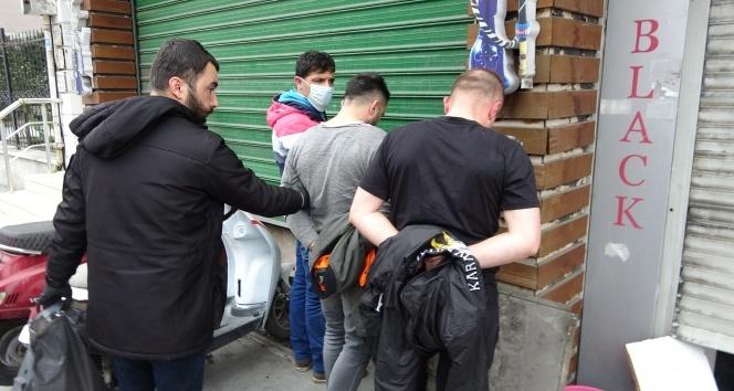 """İstanbul'da dükkanında basılan """"torbacı berbere"""" adli kontrol"""