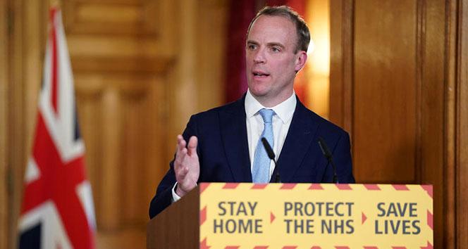 İngiltere Dışişleri Bakanı Raab: 'Tüm planlar olduğu gibi devam edecek'
