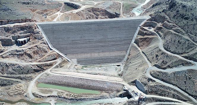 Çermik Kale Barajında çalışmalar devam ediyor