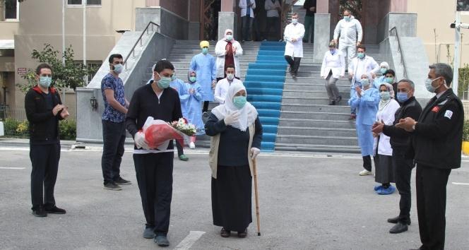 Van'da korona virüsü yenen 3 kişi taburcu oldu