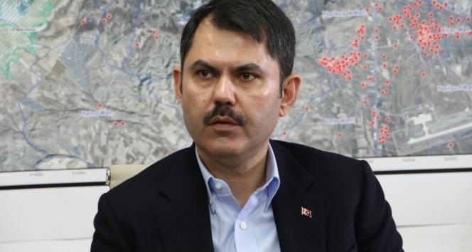 Bakan Kurum: 'Deprem konutlarının Elazığ ve Malatya'daki toplam maliyeti 5 milyar lira'