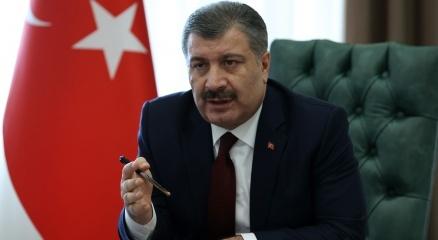 """Bakan Koca: """"10 gün içinde stabilleşen Ankaranın durumunun aşağı doğru düşeceğini söyleyebilirim"""""""