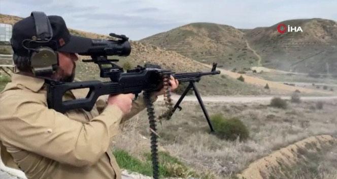 Termal silah dürbünleri Jandarma'ya teslim edildi