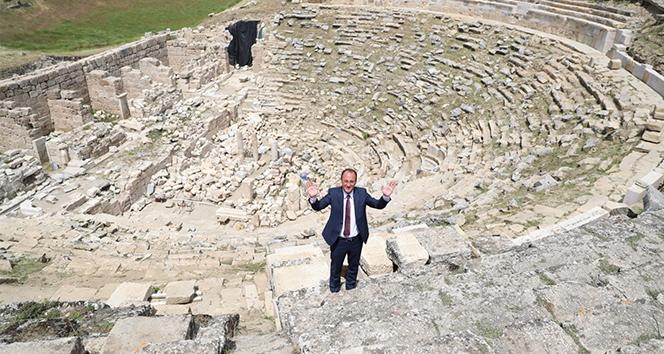 Laodikeia Antik Kenti tiyatrosu 2021 yılında etkinliklere ev sahipliği yapacak