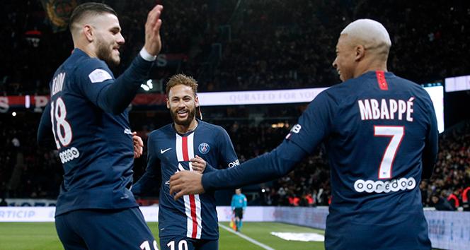 Fransa'da PSG şampiyon ilan edildi!