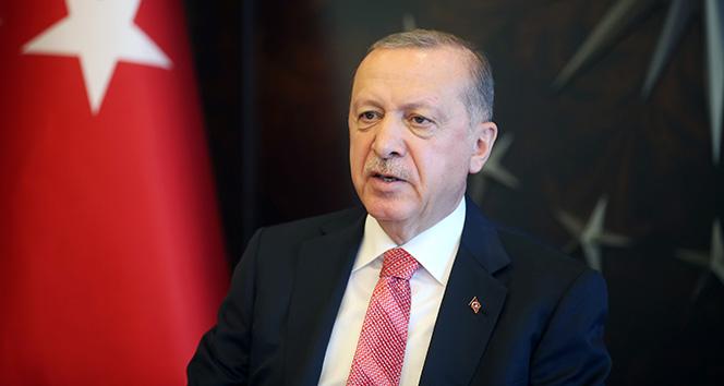 Cumhurbaşkanı Erdoğan, TBMM Başkanı Şentop'u tebrik etti