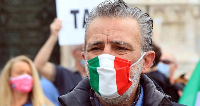 İtalya'da hükümetin, kısıtlamaların hafifletilmesine yönelik takvimde anlaştığı iddia edildi
