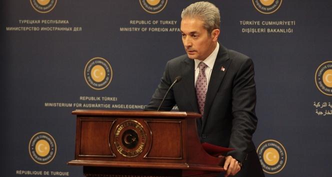 Dışişleri Bakanlığı Sözcüsü Hami Aksoy'dan Libya açıklaması