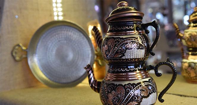 Bakırcılık Erzurum'da yaşatılmaya çalışılıyor